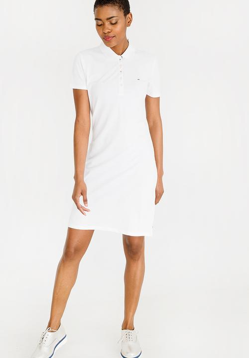 ace497f8 Essential Polo Dress White Tommy Hilfiger Casual | Superbalist.com