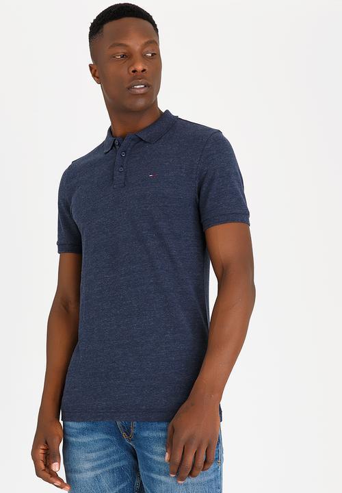 32b9d0db Slim Polo Golfer Navy Tommy Hilfiger T-Shirts & Vests   Superbalist.com
