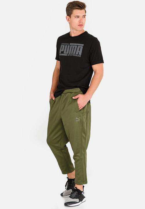 66c3e7e96de4 Fashion T7 Pants Capulet Olive Khaki Green PUMA Sweatpants   Shorts ...