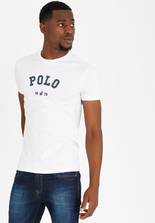 a92dae8a56ec Classic Printed T-Shirt White POLO T-Shirts   Vests