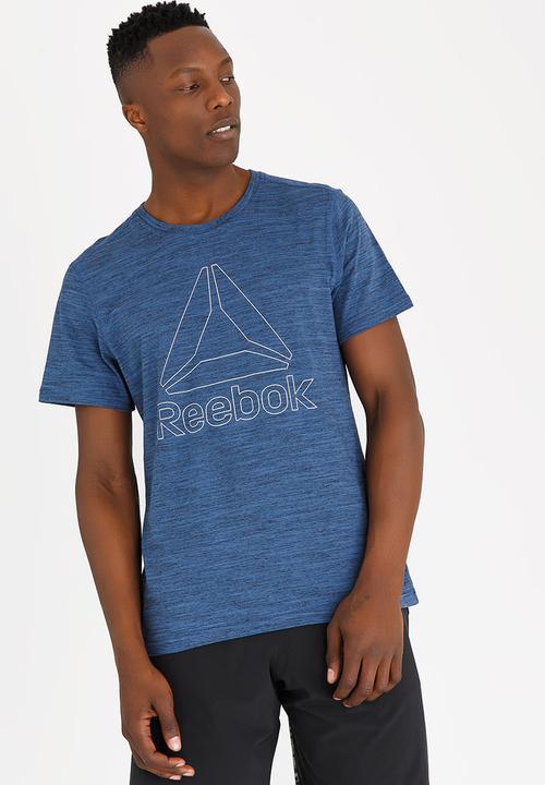 Classic Tee Blue Reebok Classic T-Shirts   Vests  63258e3cb