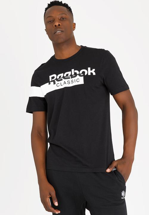 2ba771ed AC F Disruptive Tee Black Reebok Classic T-Shirts   Superbalist.com