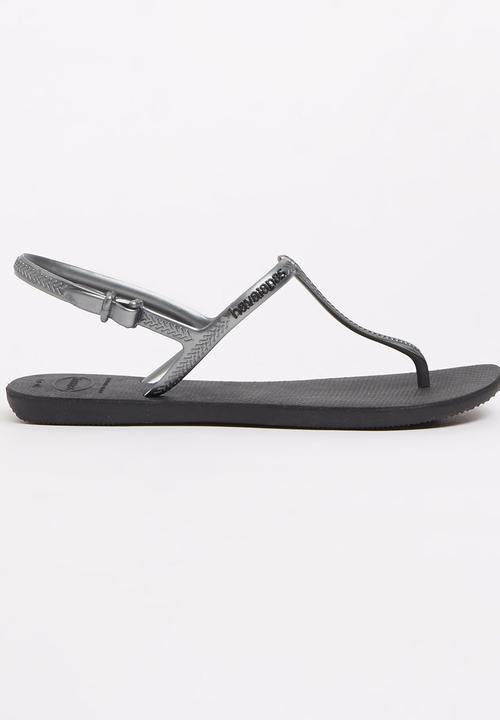 e307c0a0f Freedom Havaiana Flip Flops Black Havaianas Sandals   Flip Flops ...