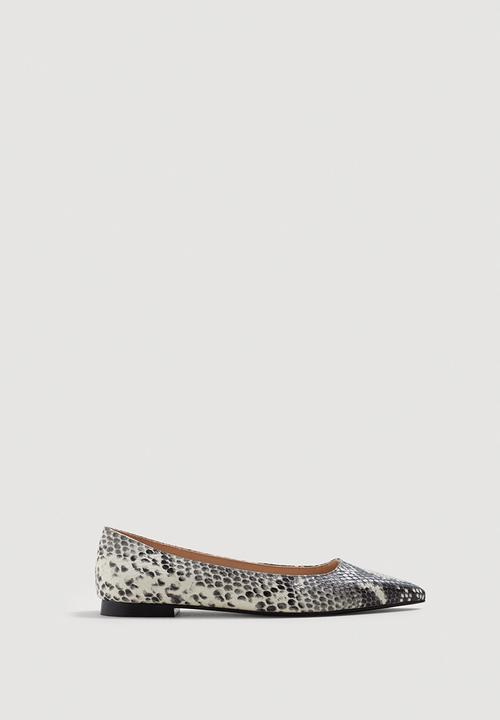 bb211d4336 Snake-finish Pumps - Grey MANGO Pumps & Flats | Superbalist.com