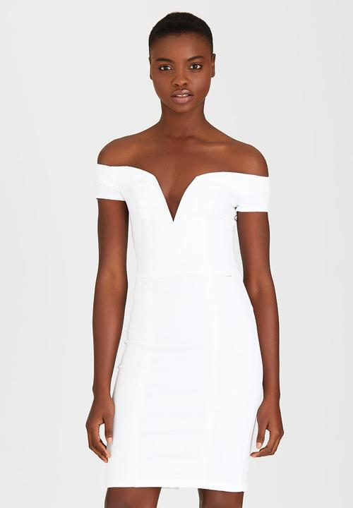 fc85690e6b1 Huntress Off-the-shoulder Dress White Sissy Boy Formal | Superbalist.com