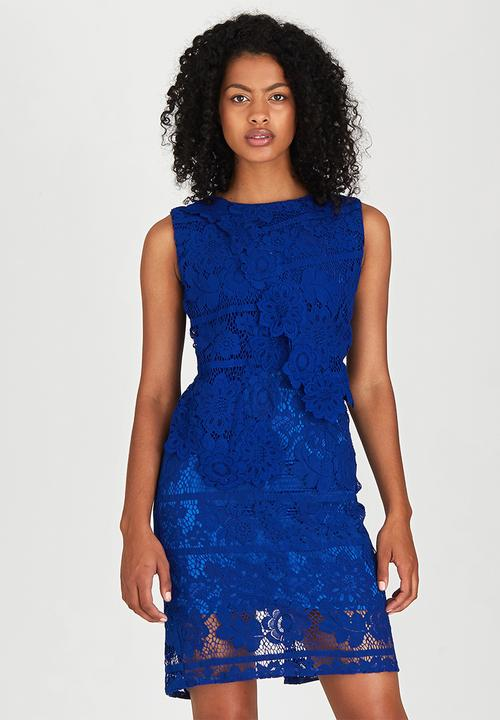 a26ace9cbf First Lady Cocktail Dress Cobalt DAVID by David Tlale Occasion ...