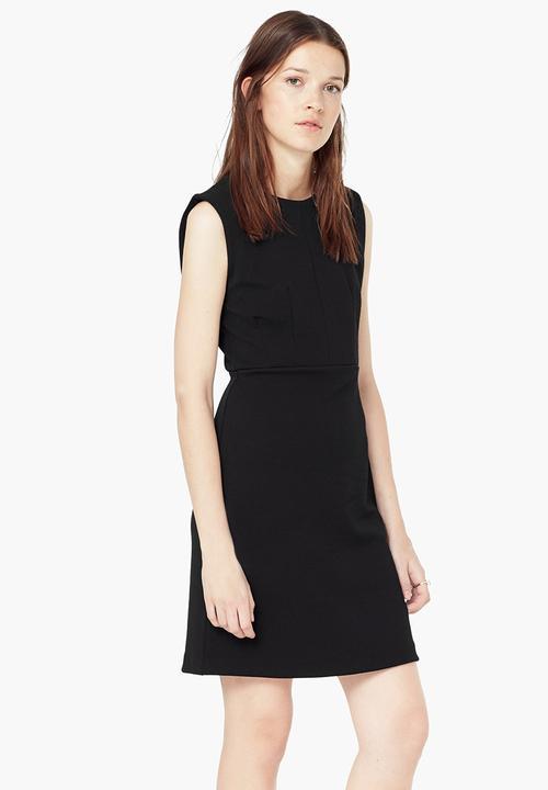 4a299a07e9b5 Shift Dress Black MANGO Formal