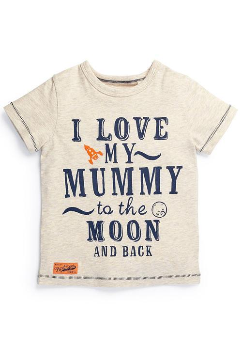 b9271b15 I Love My Mummy T-Shirt Neutral Next Tops | Superbalist.com