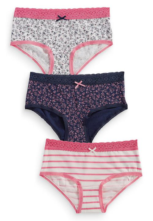 71904e20fa90 3-pack Floral Hipsters Multi-colour Next Sleepwear & Underwear ...