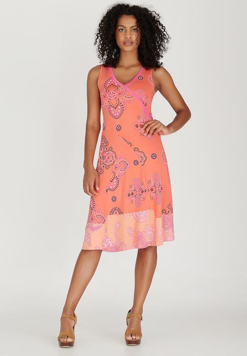 4bdf279b1387 Camillia Swing Dress Coral Maya Prass Casual | Superbalist.com