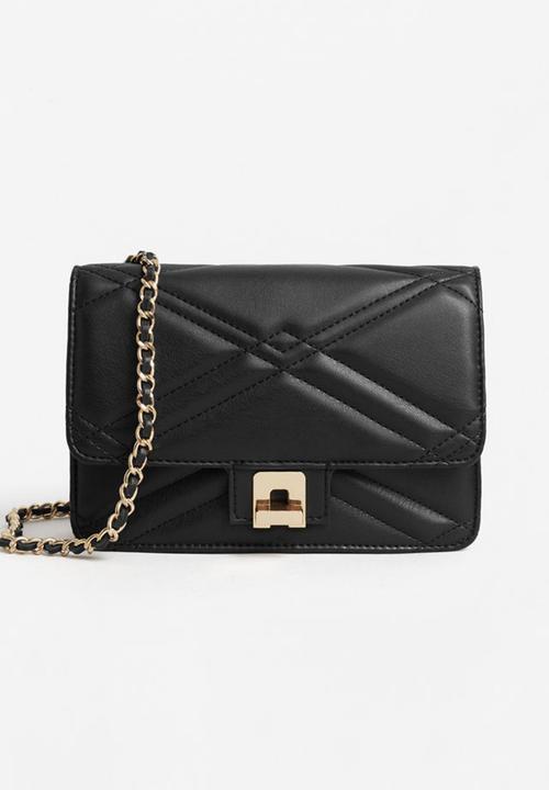 c8a5d7077173 Quilted Cross-body Bag Black MANGO Bags   Purses