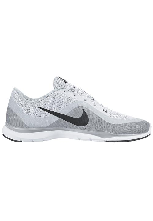 Nike Flex Trainer 6 Training Sneakers Pale Grey Nike Trainers ... 70590c546f6cc