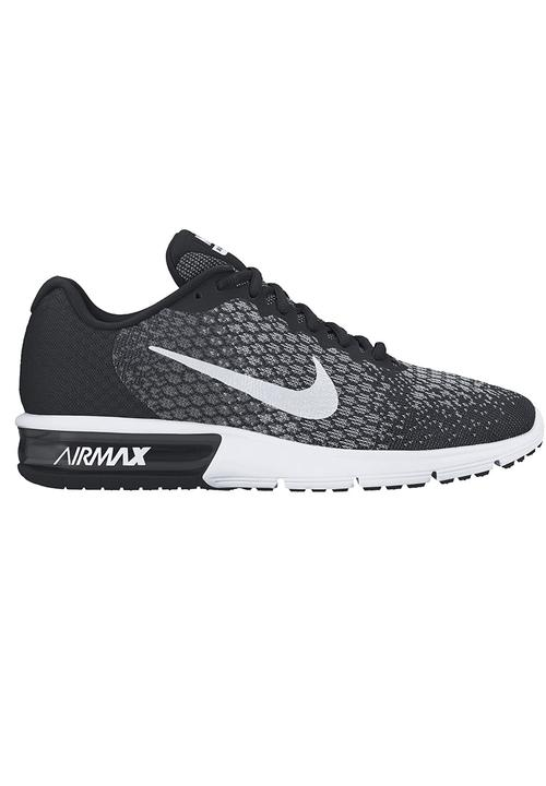 4844862bae95 Nike Air Max Sequent 2 Sneakers Black Nike Trainers