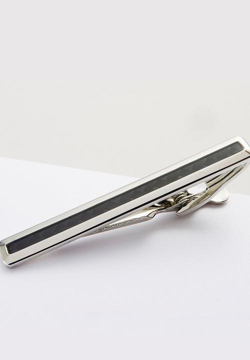 60cfbae1c50c Carbon Fibre Tie Clip Silver Next Ties & Bowties | Superbalist.com