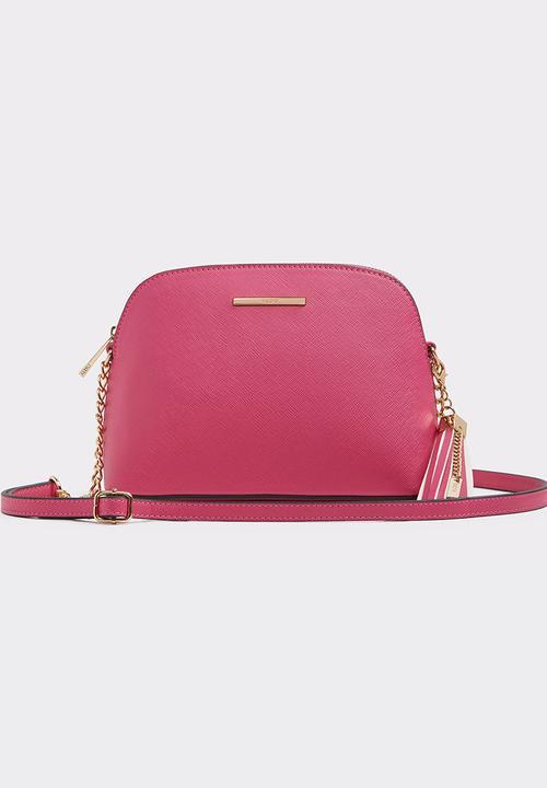 d7064199c5a Elroodie Half Moon Cross-Bag Cerise Pink ALDO Bags   Purses ...