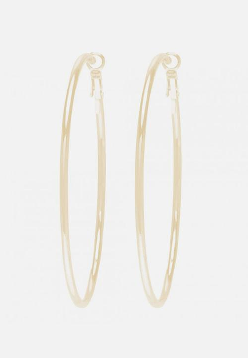 dce4864c1 Lou Large Fine Hoop Earrings Gold Forever New Jewellery ...