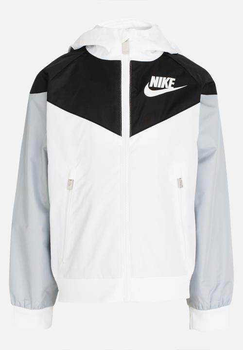 743c69a58 Nike Windrunner Hoody White Nike Jackets   Knitwear