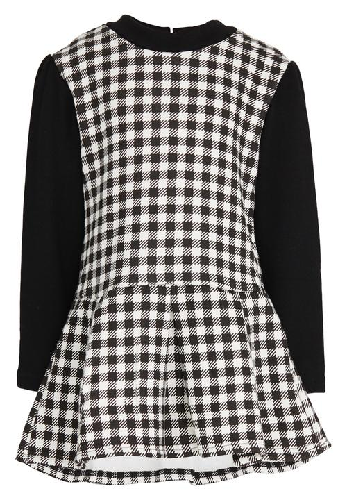 82d818a870 Check Pinafore Dress Black POP CANDY Dresses   Skirts