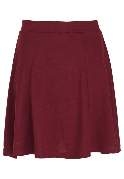 e70b80b051d3 Panel Skater Skirt Maroon Rebel Republic Dresses   Skirts ...