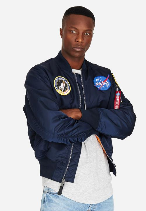 biggest selection for sale most popular Ma-1 Vf Nasa Jacket Blue