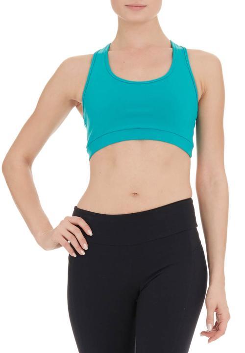 d70213c95 Green activewear top