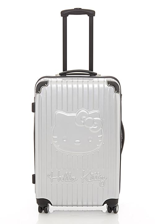 fd6ce974c8 Silver Hello Kitty suitcase Sanrio-Hello Kitty Bags   Purses ...