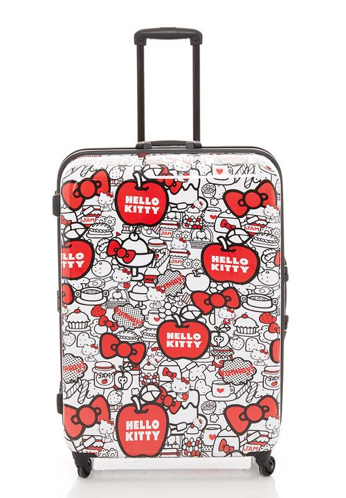 370455d595 Red Hello Kitty suitcase Sanrio-Hello Kitty Bags   Purses ...