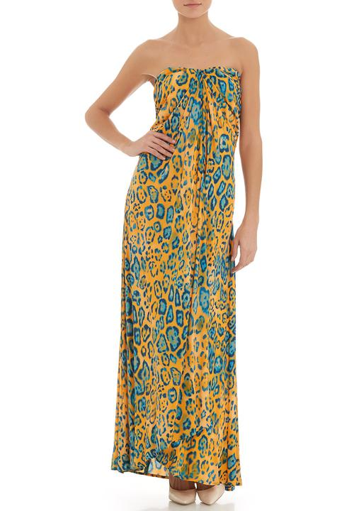 3a4b1d4925a6 Animal-print maxi dress 466/64 Occasion | Superbalist.com