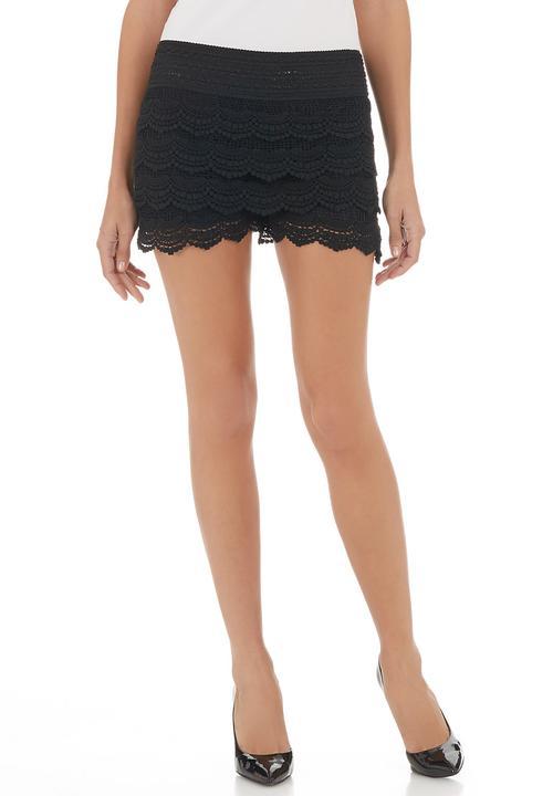Crochet Shorts Black Mishah Shorts Superbalistcom