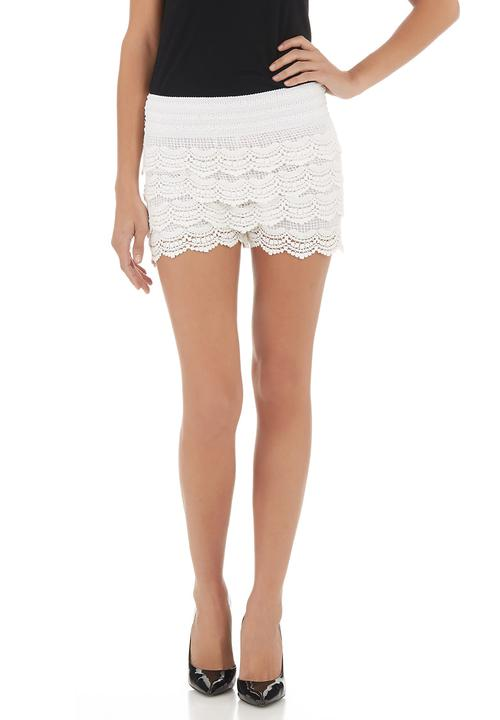 Crochet Shorts White Mishah Shorts Superbalistcom