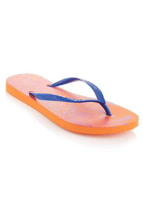 929092fe0 Hawaiian flip-flops Orange Havaianas Sandals   Flip Flops ...