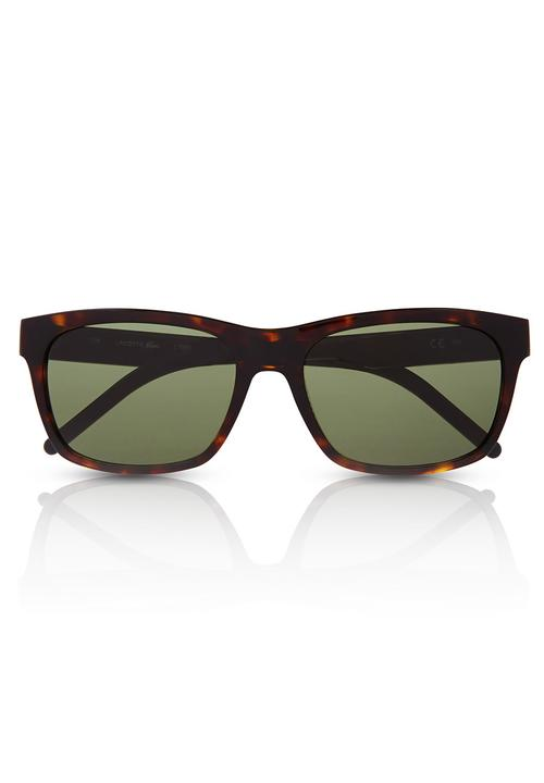 cb29e6f4d Wayfarer sunglasses in brown Lacoste Eyewear