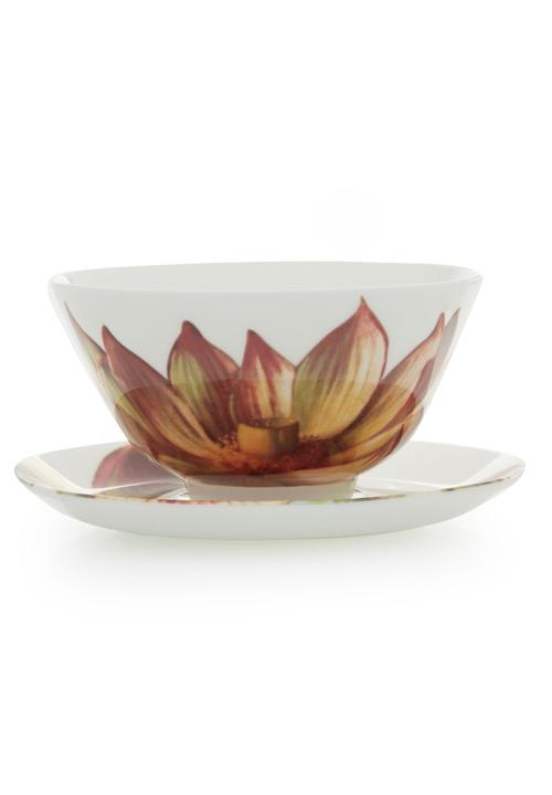 Lotus Flower Bowl And Saucer Multi Colour Tretchikoff Formal Shoes