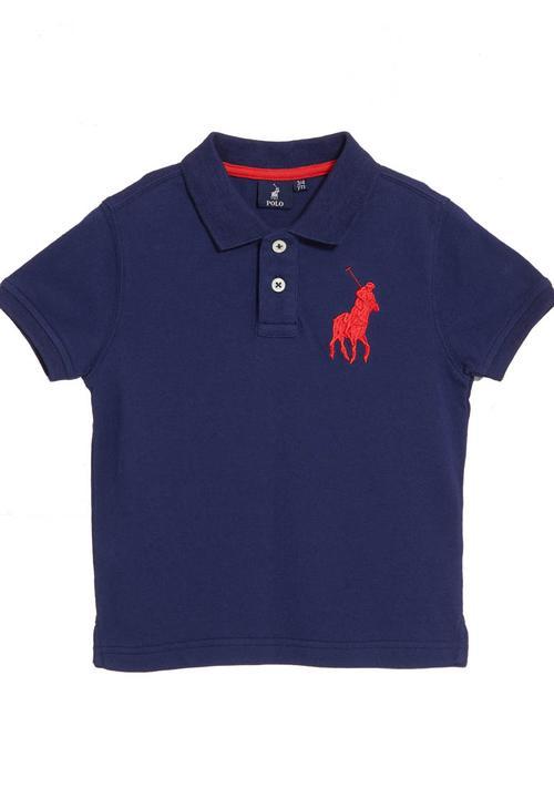 011748d9 Golf T-shirt Navy POLO Tops | Superbalist.com