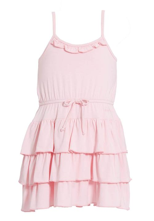 Pink Ruffled Dresses