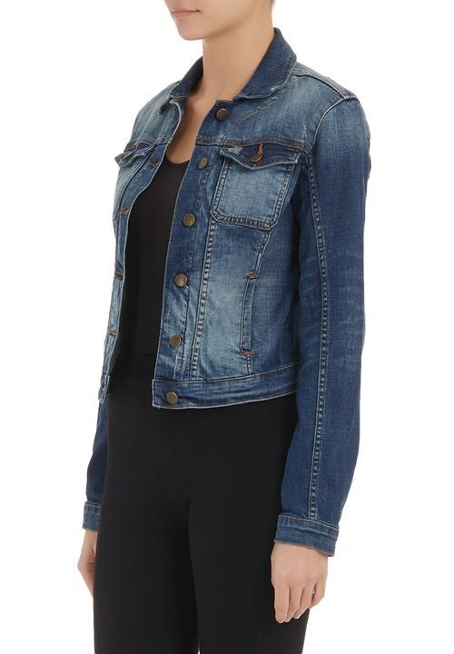 430add23180ea Brittney denim jacket pale Blue GUESS Jackets   Superbalist.com