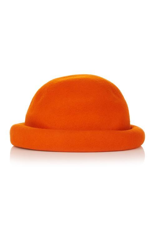 Bowler hat Orange Jo Borkett Fashion Accessories  277afd126d4