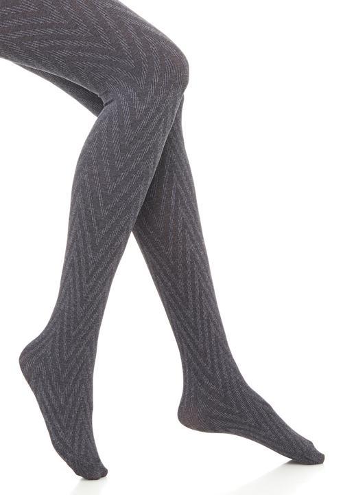 e772d28258629 Zigzag printed tights Grey Falke Stockings & Socks | Superbalist.com