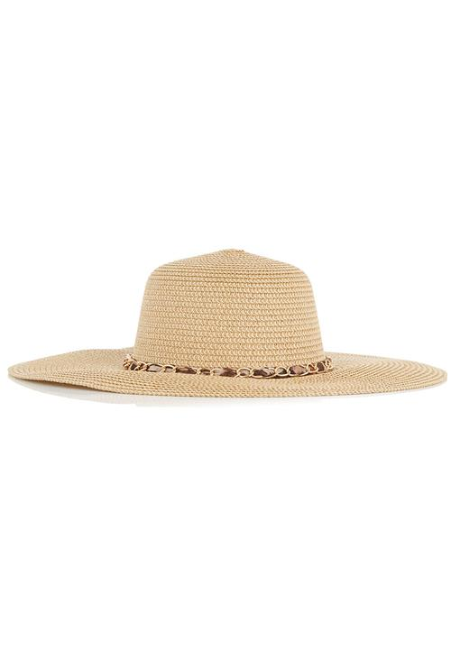 e1bbf7675c9d0 Leopard Floppy Hat Beige edge Fashion Accessories