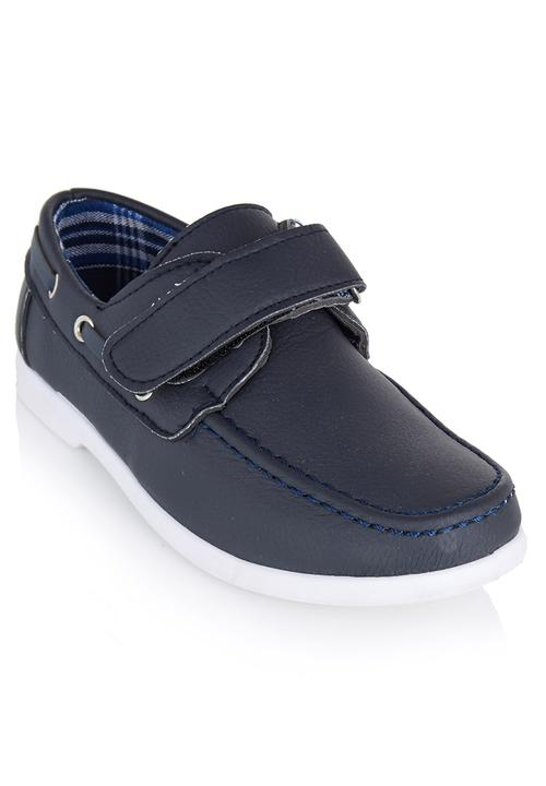 newest ab84e b3547 Brats - Boys Loafers with Thread-through Navy