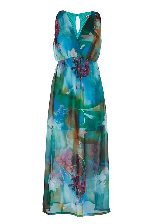 Floral Maxi Dress Multi-colour
