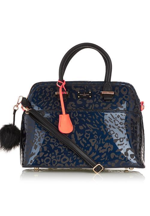 405c14121b1 Leopard-Print Handbag Black Paul s Boutique Bags   Purses ...