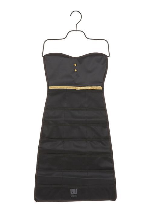 Little Black Dress Bow Jewellery Organiser Black Umbra Formal Shoes
