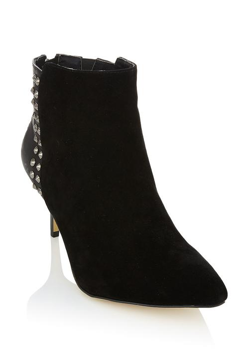 92a163fe8 Leather ankle boots Black Sam Star Boots
