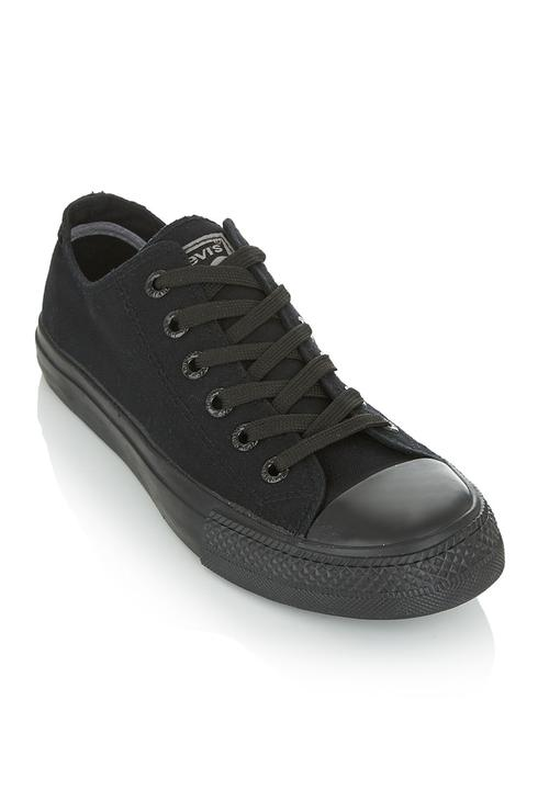 Levi's® Dunk pitch lo 2 sneakers Black