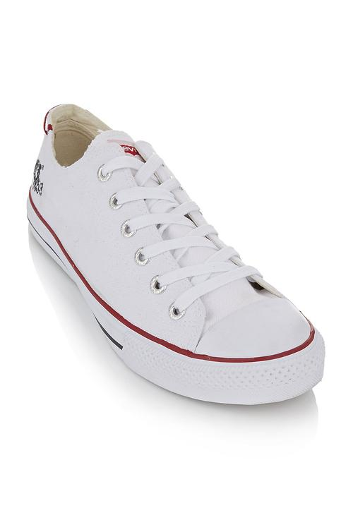 Mono dunk pitch lo canvas sneakers White Levi s® Sneakers ... a74ea742ebe