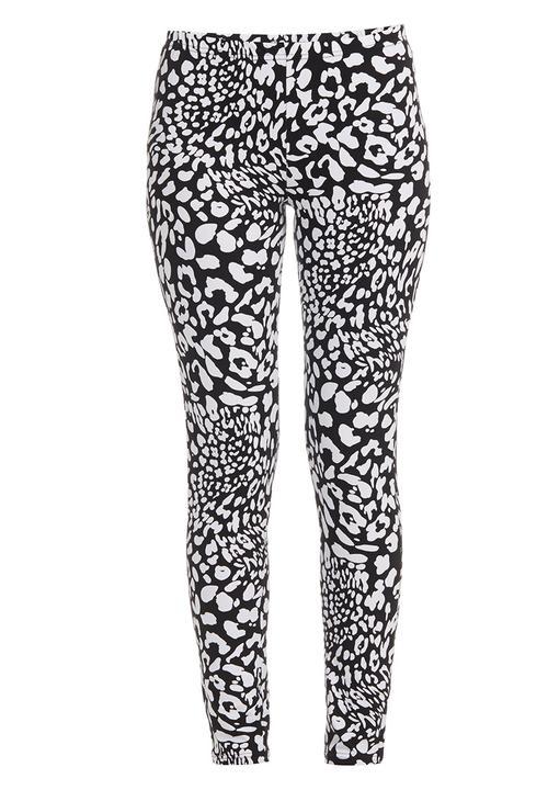 cbdf9084e9b38 Animal-print Leggings Black/White She's Cool Trousers   Superbalist.com
