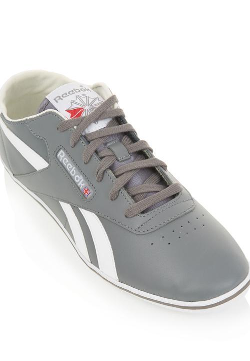 CL Exo-plimsole Mid Grey Reebok Classic Sneakers  12b95da94