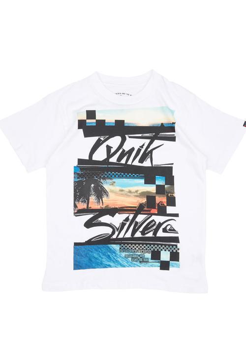 b619d441df5e71 Quicksilver T-shirt White Quiksilver Tops | Superbalist.com