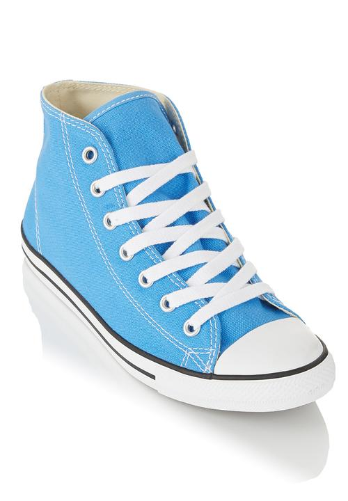 9bd0e68c005 High-Top Sneakers Blue Converse Sneakers